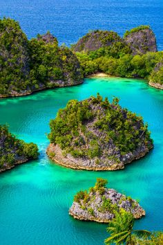 Pianemo Islands (Raja Ampat) 14 by Roy Singh on 500px-Located off the northwest tip of Bird's Head Peninsula on the island of New Guinea,