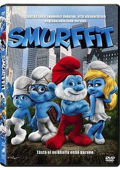 Smurffit dvd 4.99€
