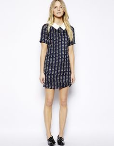 Max C Shift Dress with Collar  UK Size:8 at ASOS RRP £45.00