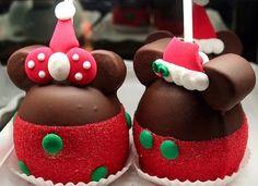 Mickey and Minnie Christmas treats