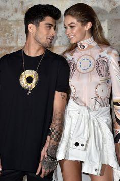 Zayn Malik et Gigi Hadid Sont de Sortie à Paris