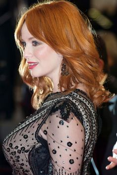 Christina Hendricks With A Wavy Hairstyle At Cannes Film Festival 2014 Alabaster Skin, Joan Holloway, Cannes Film Festival 2014, Sexiest Women, Iconic Women, Christina Hendricks, Celebs, Celebrities, Famous Faces