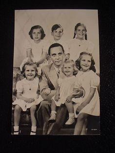 """April 30, 1945. Traudl Junge and the Goebbels children are having lunch together. They hear a shot go off, and Helmut, the boy, apparently yelled """"Bullseye!"""""""