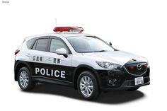 Японские полицейские получили на вооружение обновленные кроссоверы Mazda CX-5 с дизельными моторами.