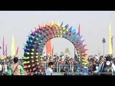 International Kite Festival 2016 at Sabarmati Riverfront in Ahmedabad