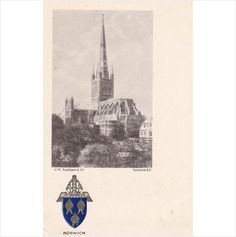 AL51 Norwich, Cathedral and Coat of Arms on eBid United Kingdom