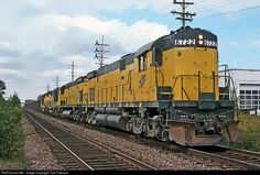 RailPictures.Net Photo: CNW 6722 Chicago & North Western Railroad Alco C628 at Wauwatosa, Wisconsin by Tom Farence