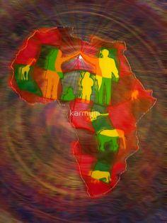 « africa - digital - 2010 » par karmym