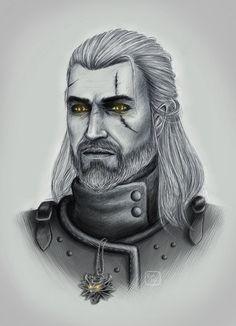 Geralt of Rivia by evamickiewicz
