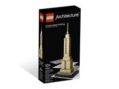 21002 Empire State Building was a LEGO Architecture set that was released in 2009. The set includes a model of the Empire State Building. The model was designed by Chicago architect Adam Reed Tucker. This set is a miniature model of the Empire State Building, to be seen in New York in Manhattan. The set consists of 77 pieces and no minifigures, as with all sets of this line. It is build with LEGO System bricks, most of them having a tan colour, which is the main colour of the set. The…