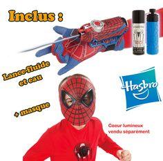 Masque Spider Man + Lance fluide et eau ! Créez votre board « Liste Magique de Noël Disney », épinglez-y 20 produits maximum qui viennent de notre board « Liste Magique de Noël Disney ». Chaque jour un « cadeau du jour » est à gagner par tirage au sort. Le 21 Décembre, celui qui aura le plus de like sur son board « Liste Magique de Noël Disney » gagnera la totalité de son board. Cadeau du jour : 10/12/12 - http://www.disney-television.com/reglement-pinterest-Noel-Disney.pdf -  #NoelDisney