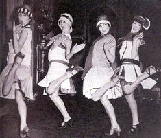 Flappers from the 1920's!