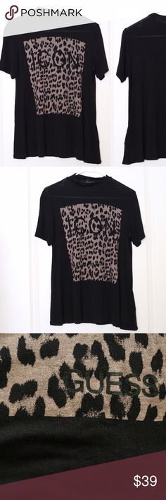Guess Tee Size S Guess Tee Size S. Very comfy and beautiful! Worn only a handful of times Guess Tops Tees - Short Sleeve