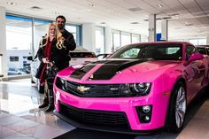 Pink jim mckay chevy in northern va - page 2 - c Camaro Chevy, Pink Camaro, Pink Chevy, Chevy Girl, Camaro Zl1, Pretty Cars, Cute Cars, New Sports Cars, Sport Cars