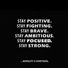 Stay positive!   #gym #health #fitness