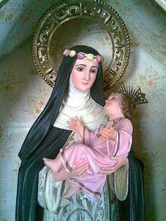 Religiosidad Popular, St Rose Of Lima, Les Religions, Prayer Cards, Catholic Saints, Princess Zelda, Disney Princess, Holy Spirit, Veil