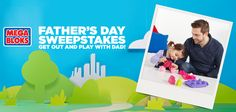 Chillingly Cheap: MEGA BLOKS Father's Day Sweepstakes,Daily prizes, ...