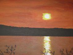 """""""Hudson River Sunset"""""""