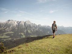 #Wandern in den Alpen.