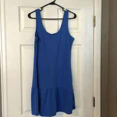 Old Navy Drop Waist Dress EUC- wore once.  Drop waist dress in a beautiful blue.  Sorry no trades. Old Navy Dresses Mini