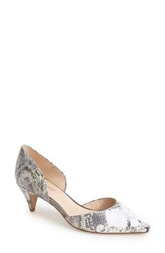 Nine West 'Chaching' d'Orsay Pump (Women) available at #Nordstrom
