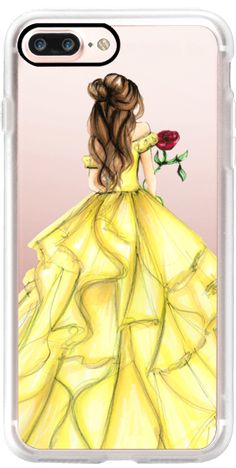 Casetify iPhone 7 Plus Classic Grip Case - The Princess and The Rose by Melsy's Illustrations