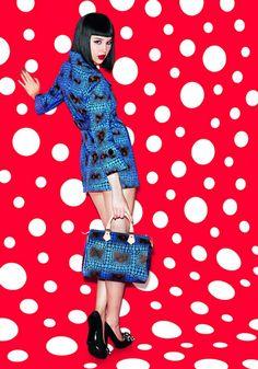 Yayoi Kusama x Louis Vuitton - #patterns #fashion #prints - more at @dcwdesign blog