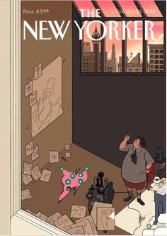 Another New Yorker's cover.  Ware - New Yorker
