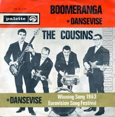 """The Cousins - """"Dansevise"""", instrumental cover version of the winning song Eurovision Song Contest 1963"""