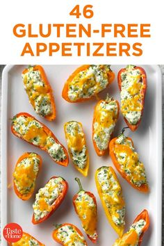 Bbq Appetizers, Gluten Free Appetizers, Appetizer Recipes, Pasta Recipes, Diet Recipes, Vegan Recipes, Gluten Free Party Food, Gluten Free Menu, Gluten Free Desserts