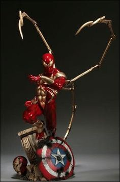 Iron Spider-Man Comiquette / Exclusive / Sideshow Collectibles / Edition size: 750 / JCG