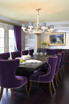 Dining room by Drake Design Associates