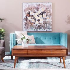 Mid century modern home decor is easy as @curiaandco.