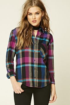 Checked Cotton Shirt from Forever 21 R199,00