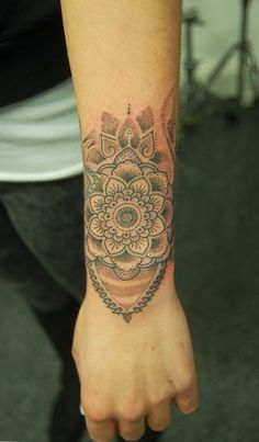Dotwork pattern for Nina. By Dotwork Damian at Blue Dragon Tattoo Studio. Brighton.