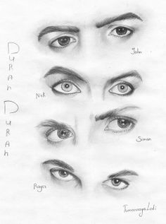 The eyes of Duran Duran
