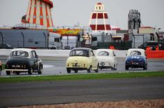 Silverstone Classic Race action