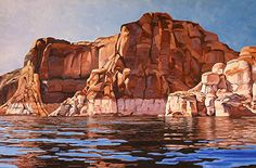 Reflections, Oil, 24x36 by Ron Larson Oil ~ 24 x 36