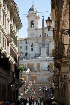 Spanish Steps. Rome, Italy.