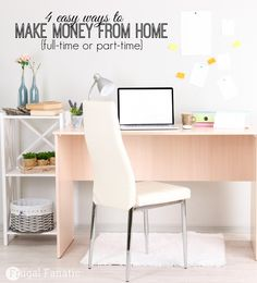 If you are looking for some ways to make money from home then check out these 4 simple ideas that you can try now. Whether you are trying to make a full-time income or a part-time income then check out how you can make some extra cash.