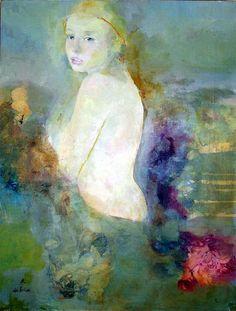 Figure Painting, Figure Drawing, Painting & Drawing, Kunst Online, Art Et Illustration, Figurative Art, Female Art, Art Images, Art Lessons