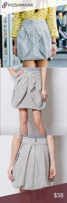 7b4d1f91da Eva Franco Striped Bubble Skirt Sz 4P This beautiful Eva Franco striped