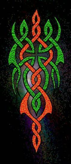 Textured Scorpion knot by Ayla Ellis.