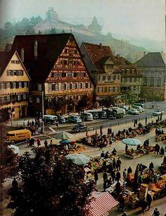 Esslingen, Germany; I lived here once upon a time.