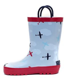 18773821d4b Keep tiny toes dry and protected with these darling rain boots featuring  durable rubber uppers and