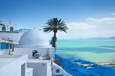 Sidi Bou Said, Tunisia by Engin Korkmaz