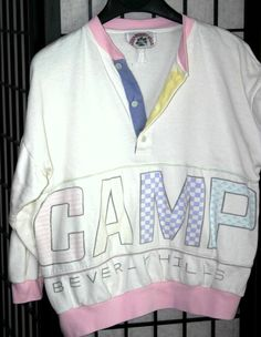 Camp Beverly Hills Brand Clothing 1980s