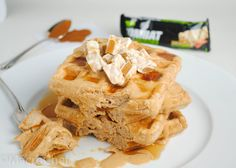 | Maple Cinnamon Protein Waffles | http://www.macro-chef.com