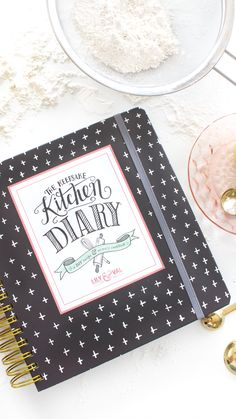 A recipe keeper + a journal to record all the precious stories and memories of your favorite, nostalgic dishes.