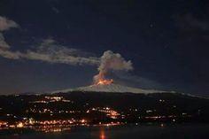 Dec14: A view of Etna from Reggio Calabria